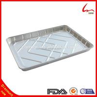 Half Size Cookie Sheet Disposable Aluminum Foil Cake Pans
