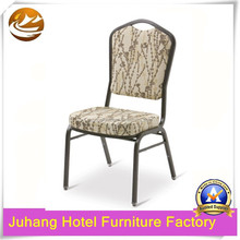 High quality stacking iron chair for banquet