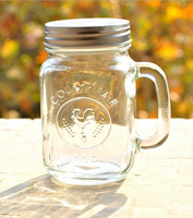 wholesale lead free animal-shaped glass jar with screw cap
