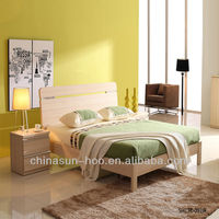 2013 new pakistan wooden bed models