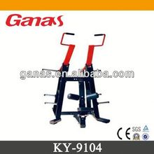 Casting iron & rubber cover commercial gym equipment multi gym KY-9104/lat pull down