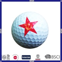 made in china custom print funny golf balls