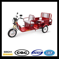 SBDM Good Performance Electric Passenger Adult Folding Tricycle