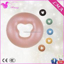 Cheap bottom price gel memory foam massage table beauty bed silica gel pillow