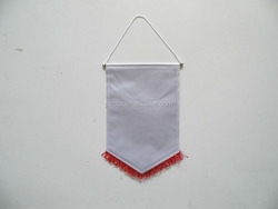 Blank Without Printing Team Soccer Pennant
