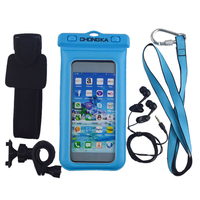 2015 Waterproof Cell Phone Case For Diving With Floating