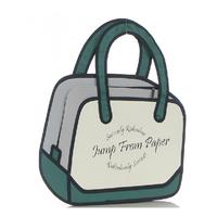 Hot Selling Stylish 3d model bags comic cartoon 2D Cartoon Yura Flat Bag