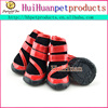 Lovable and warming pet dog boots for winter