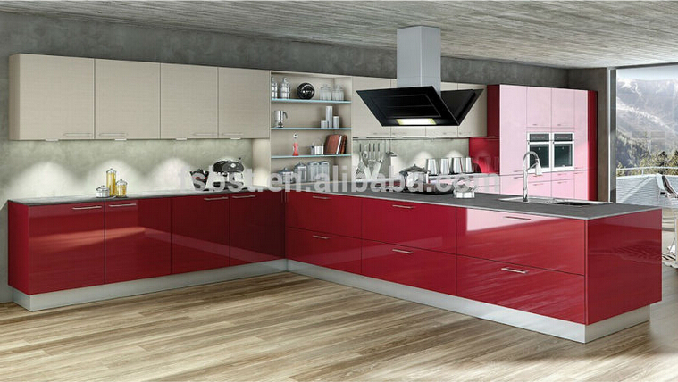 Modern Kitchen Cabinet Design High Gloss Kitchen Cabinet Ak286 Germany Pvc View High Gloss