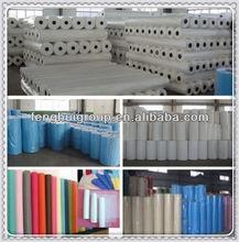 100% polyproplene excelente qualidade de tecido não tecido rolos materia prima para fabricar chinelos