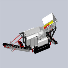 China Mini(Small) Portable Rock Crusher Plants for sale with high quality and low operation cost