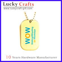 customized name tags/name brand tags/oval name tags