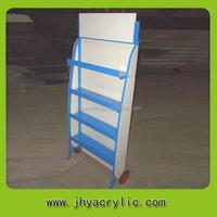 Factory Direct promotional wire rack/metal display stand electrical conduit display stand