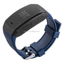 2015 hot selling bluetooth smart bracelet IP67 waterproof, OLED screen, sms and incoming call remind smart wristband
