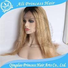 High Quality 100% Virgin Remy Hair Wig Aliexpress Human Hair Full Lace Wig