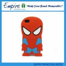 New design cool fashion spiderman silicone case