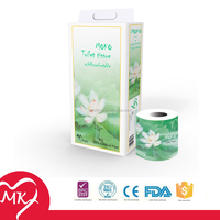 Wholesale 100% virgin wood printed designed toilet tissue custom toilet paper
