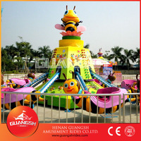 hot selling rotary honey bee fairground kids rotating rides for sale
