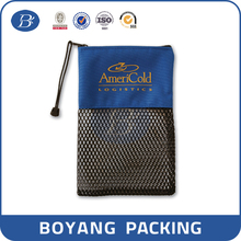 2015 customize mesh cosmetic bag for promotion