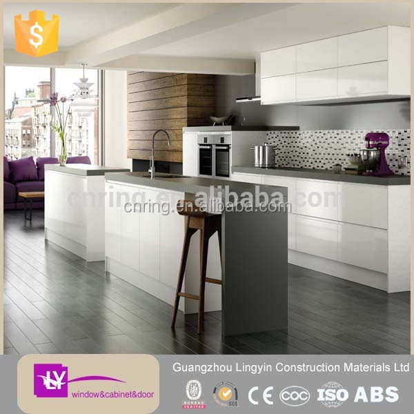 2015 modern aluminium kitchen furniture buy aluminium for Kitchen set aluminium modern
