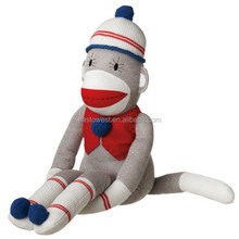 factory direct wholesale sock monkey,custom plush toys