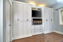 custom made wooden shaker 8 doors white wardrobe