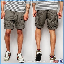 Dongguan Wholesale Fashion Cheap Men's Baggy Cargo Shorts With Canvas Belt