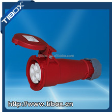 TIBOX 16A 3P 220V new type industrial plug and socket