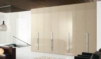 White lacquer Bedroom wall wardrobe design