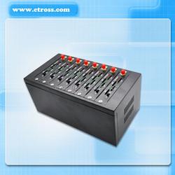 Etross 8 ports 32 sim cards Rotation Anti block GSM Gateway
