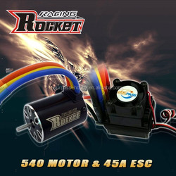 Rc car ESC 45A and motor IO 5.6A combo RC toy - 1/10th Scale 4wd Brushless Moto rPowered off-Road Buggy Booster-Pro