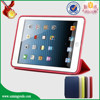 Factory smart PU leather case for ipad mini top selling products in alibaba