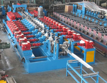 Fully Automatic CZ Section Roll Forming Machine [ steel thickness =1-4mm]