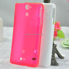 Existing Mould TPU Mobile Phone Cover for Sony Xperia V LT25i