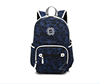 Fashionable student backpack,canvas trendy high school backpack