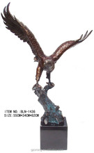 bronze eagle statue /bronze sculpture for home decoration