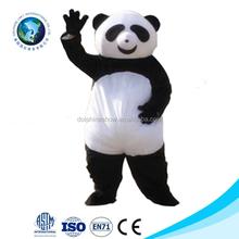 New kid panda animal mascot costume fancy dress costume