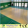 Plastic/PVC waterproof laminate basketball court sport pvc flooring