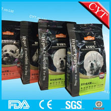 1.6KG stand up dog food bag with zipper