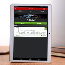 9.7 inch android tablet 4gb ram with Octa Core 4G RAM 1280X800