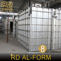 RD company best Manufacturer curved concrete forms