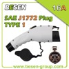 32A SAE J1772 Extension Cable Plug
