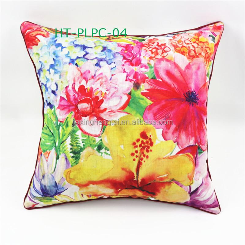 ikea style d coratif canap de voiture fleur r tro coussin lin coton impression num rique. Black Bedroom Furniture Sets. Home Design Ideas