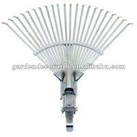 "(GD-16021H/O) 11""~18""x22T Adjustable Leaf Rake"
