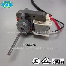 230v 50hz bajas rpm ac motor eléctrico para el acondicionador de aire, humectador, calentador de ventilador