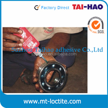 Free samples henkel loctit adhesive 10ml 50ml 250ml loctit 601 603 609 620 638 641 648 680 660 equivalent