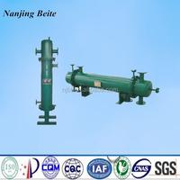 pipe bundle condenser /turbular type heat exchanger /corrugated tube heat exchanger