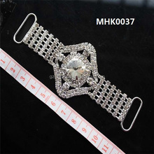 High quality swimwear crystal connector for bikini accessories MHK0037