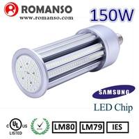 High brightness 360 degree smd5630 150w e40 led corn light 5 years warranty