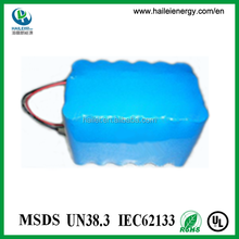 trade assurance covered lifepo4 12ah 18v battery pack